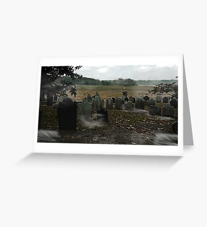 Cemetery Greeting Card