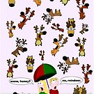 Rainer Galea's 'Christmas Reindeer' by Art 4 ME