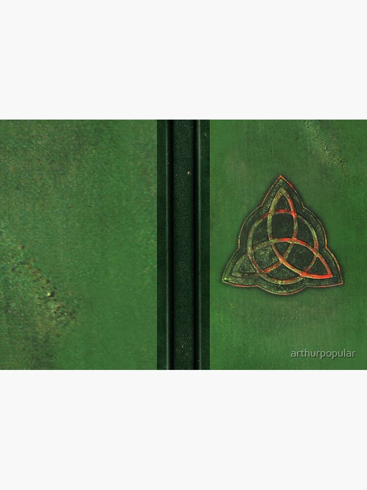 Book of Shadows - Charmed Triquetra Design by arthurpopular