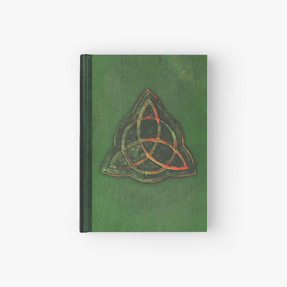 Book of Shadows - Charmed Triquetra Design Hardcover Journal