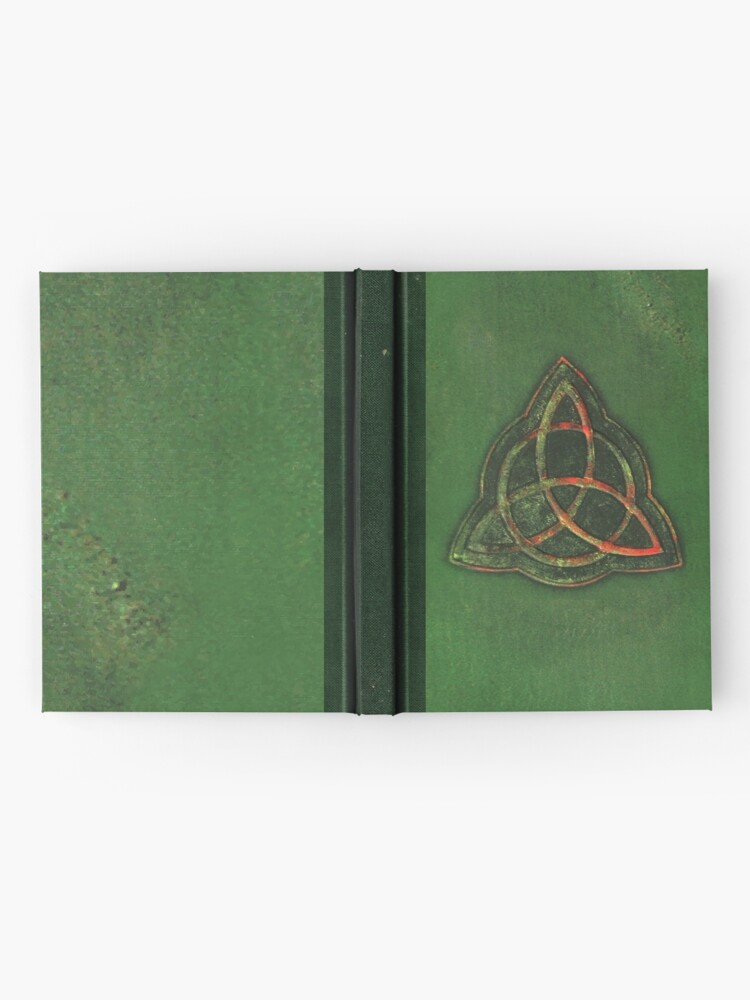 Alternate view of Book of Shadows - Charmed Triquetra Design Hardcover Journal