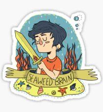 Seaweed Brain Sticker