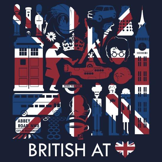 TShirtGifter presents: British @ Heart