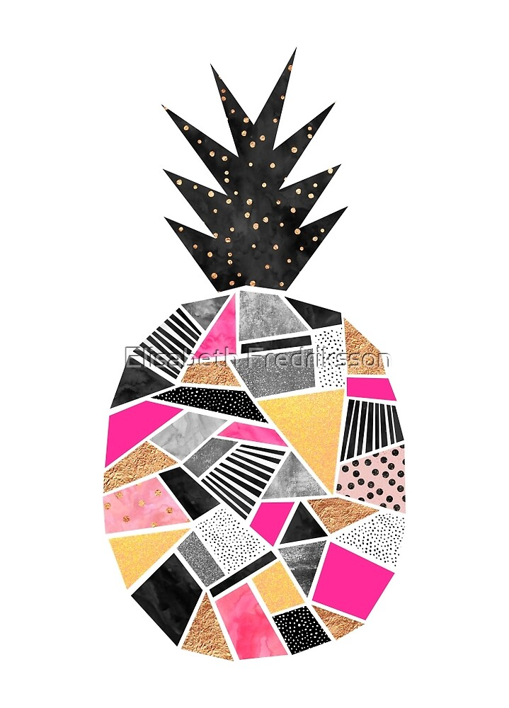 Pretty Pineapple by Elisabeth Fredriksson