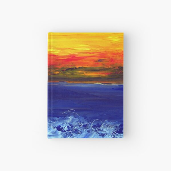 Sea and sky Hardcover Journal
