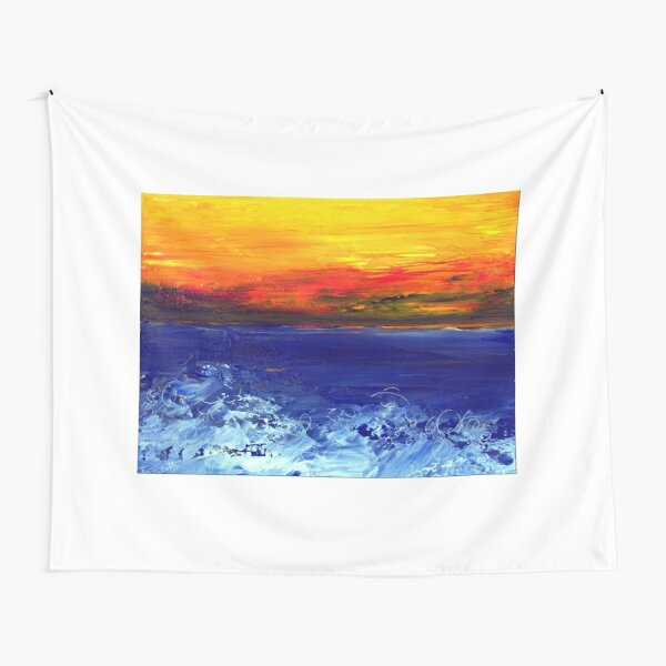 Sea and sky Tapestry