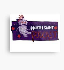 North Saint Podcast Logo Metal Print