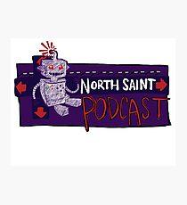 North Saint Podcast Logo Photographic Print