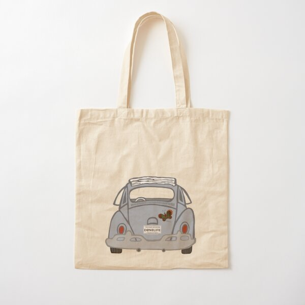 Old Classic Car With Donate Life Plates Cotton Tote Bag