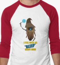 CLAPTRAP WIZARD! Men's Baseball ¾ T-Shirt
