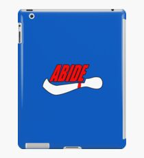 ABIDE logo - Air Lebowski II iPad Case/Skin