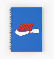 ABIDE logo - Air Lebowski II Spiral Notebook