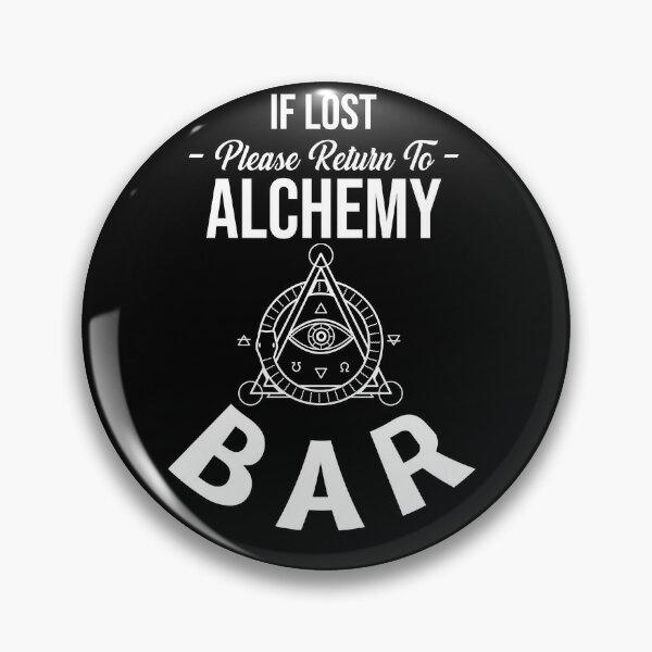 Alchemy Fire Symbol Mens Tie Clip Tack Bar