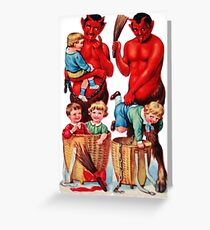 Krampus 10 Greeting Card