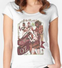 The Wizard of Oz {REMIX} Women's Fitted Scoop T-Shirt