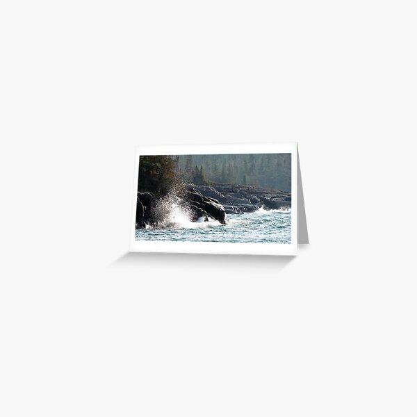 Hattie Cove - Pukaskwa National Park - Heron Bay, Ontario Canada Greeting Card