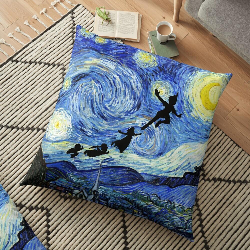 Peter Pan Starry Night Floor Pillow