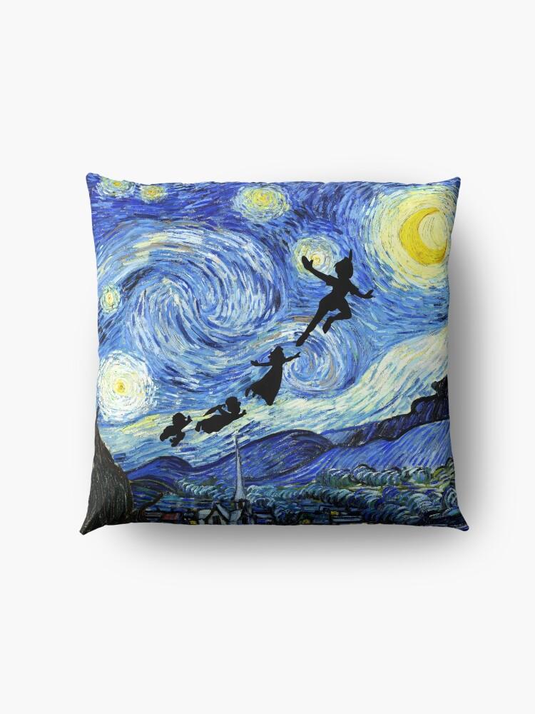 Alternate view of Peter Pan Starry Night Floor Pillow