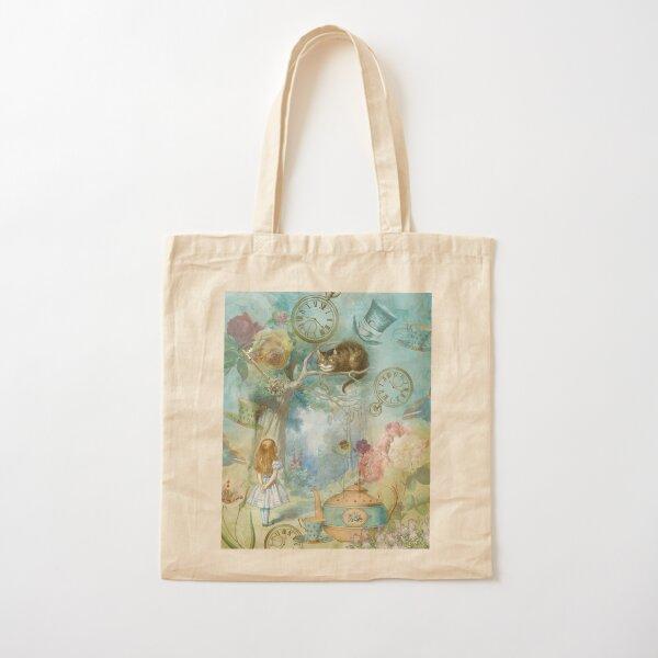 Wonderland Cotton Tote Bag