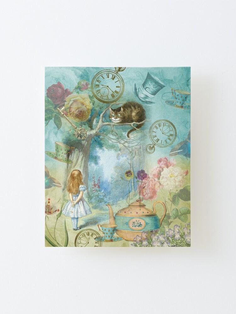 Alternate view of Wonderland Mounted Print