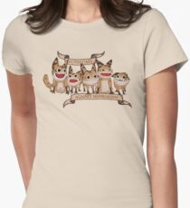 Loth Cats Against Imperialism Women's Fitted T-Shirt