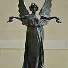 Beautiful Angel Sculpture Fountain by Paula Betz