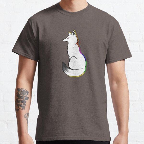rainbow snow fox Classic T-Shirt