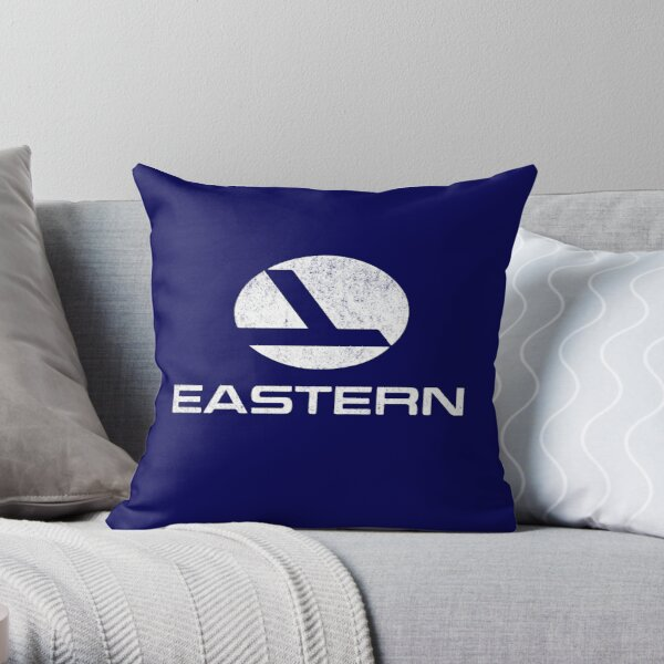 Eastern Airlines vintage logo Throw Pillow