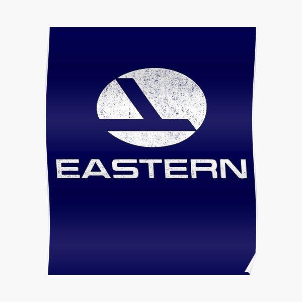 Eastern Airlines vintage logo Poster