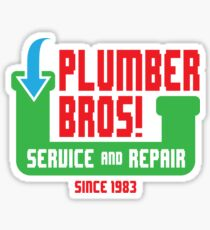 PLUMBER BROS! Sticker
