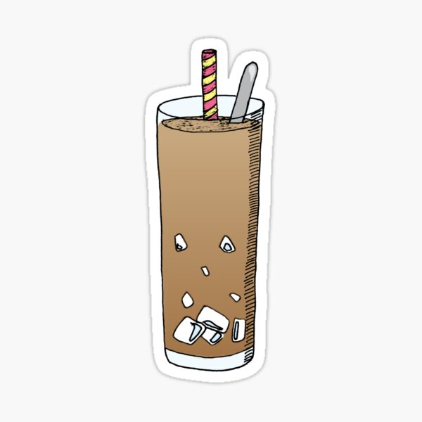 Cafe Sua Da AKA Vietnamese Coffee Sticker