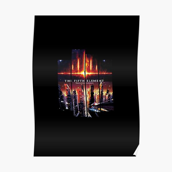 The Fifth Element Classic Large Movie Poster Print