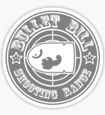 BULLET BILL SHOOTING RANGE Sticker