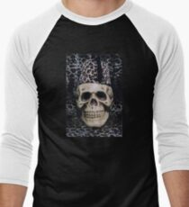 Skull with a Fezz Men's Baseball ¾ T-Shirt