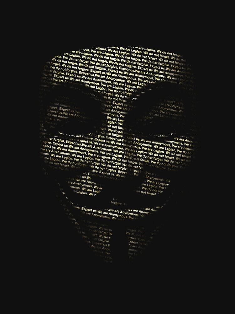 Anonymous Tee   Unisex T-Shirt