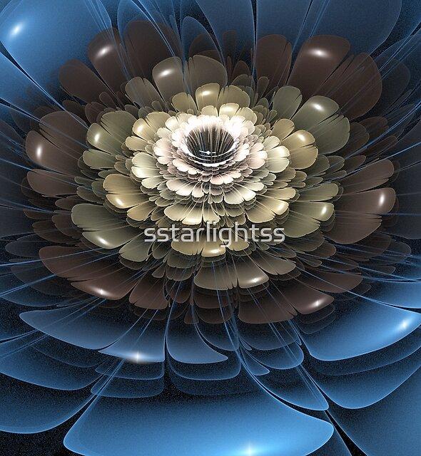 3D Blooms - Metallic by sstarlightss