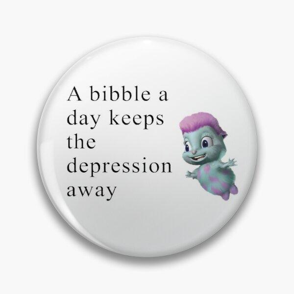Bibble Meme Pin