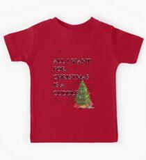 All I want for Christmas Kids Tee