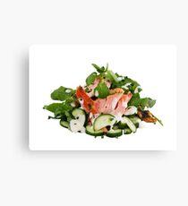 A Summers' Diet Canvas Print