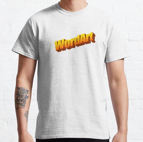 WordArt Word Classic T-Shirt