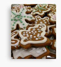 Gingerbread Cookies SOOC Canvas Print