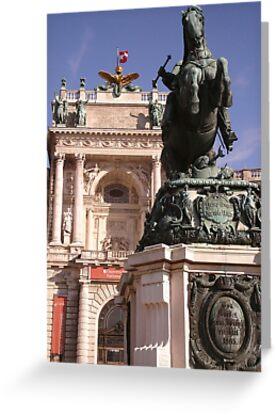 Austrian National Library, Vienna, Austria by Jekusha