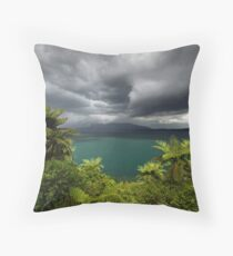 Massive storm about to hit Rotorua Throw Pillow