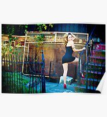 Tina-Little Black Dress-4 Poster