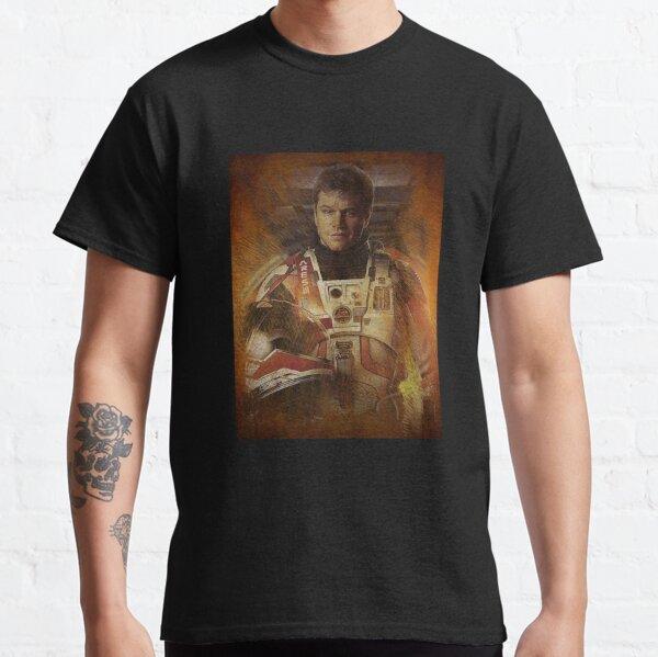 The Martian Matt Damon Classic T-Shirt