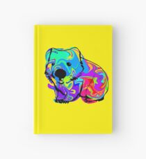 Colorful Wombat Hardcover Journal