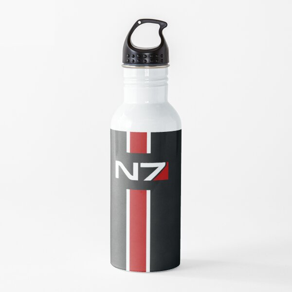 N7 emblem, Mass Effect Water Bottle