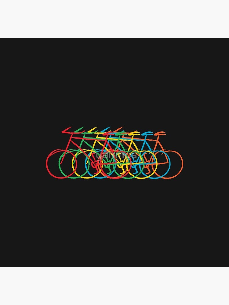 Just Bike, colorful by yanmos