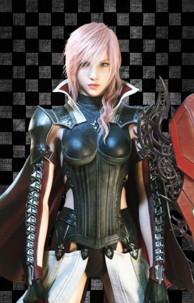 Lighting Returns - Final Fantasy XIII Lighting iPhone Case by SuperGameCo