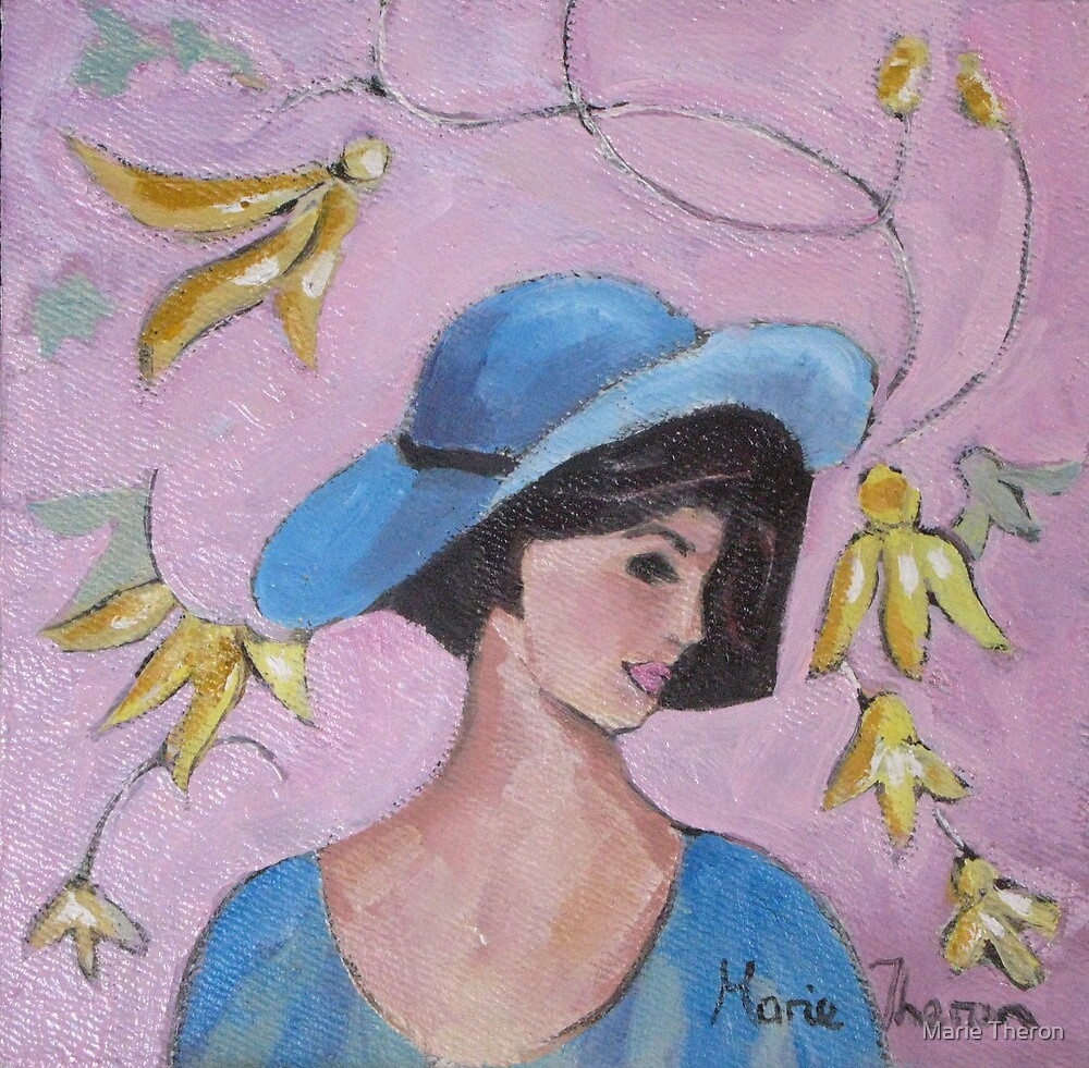 A Hat for the Topaz Dress by Marie Theron
